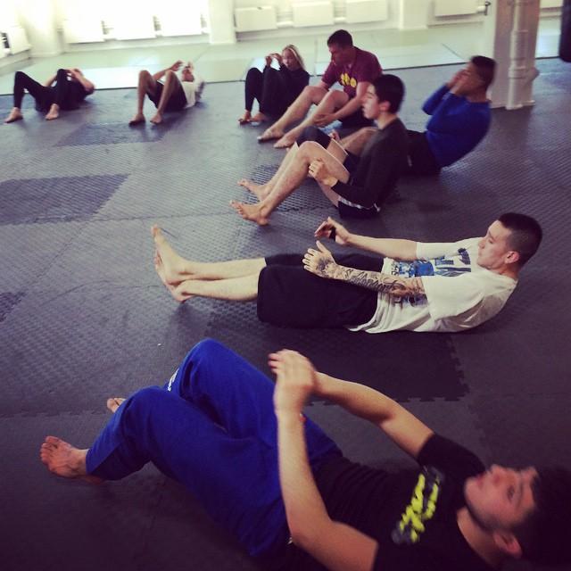 MMA trning med dem bsta sista passet p torsdag klhellip