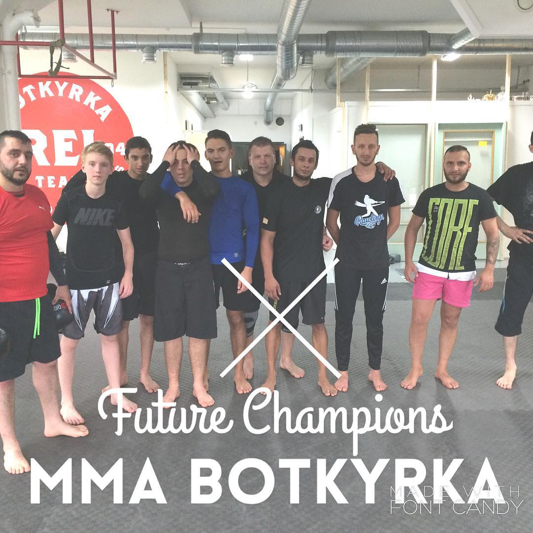 FUTURE CHAMPIONS MMA amp BJJ Botkyrka Originalz Next training saturdayhellip