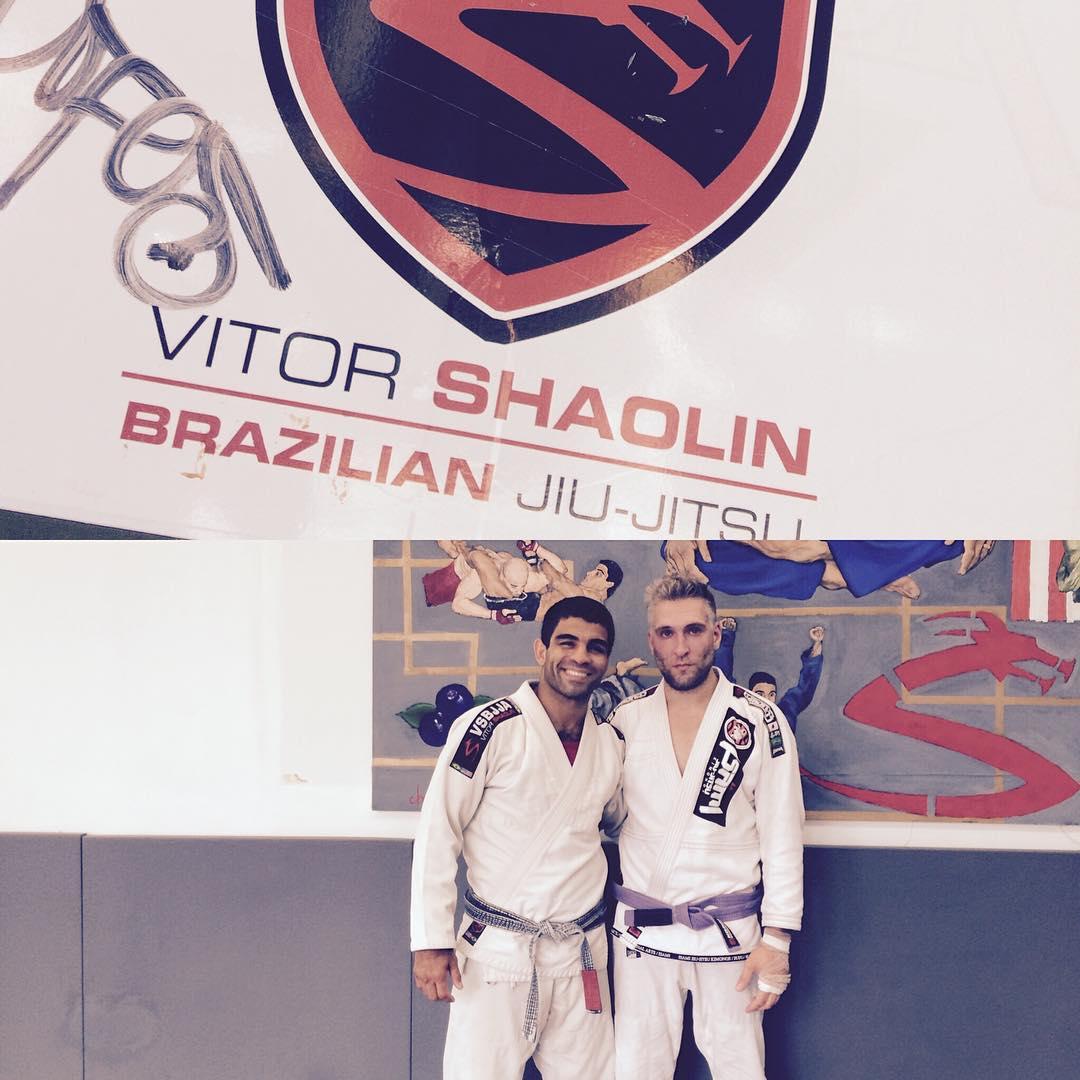 10 days of training Vitor Shaolin BJJ legend NYC thankhellip