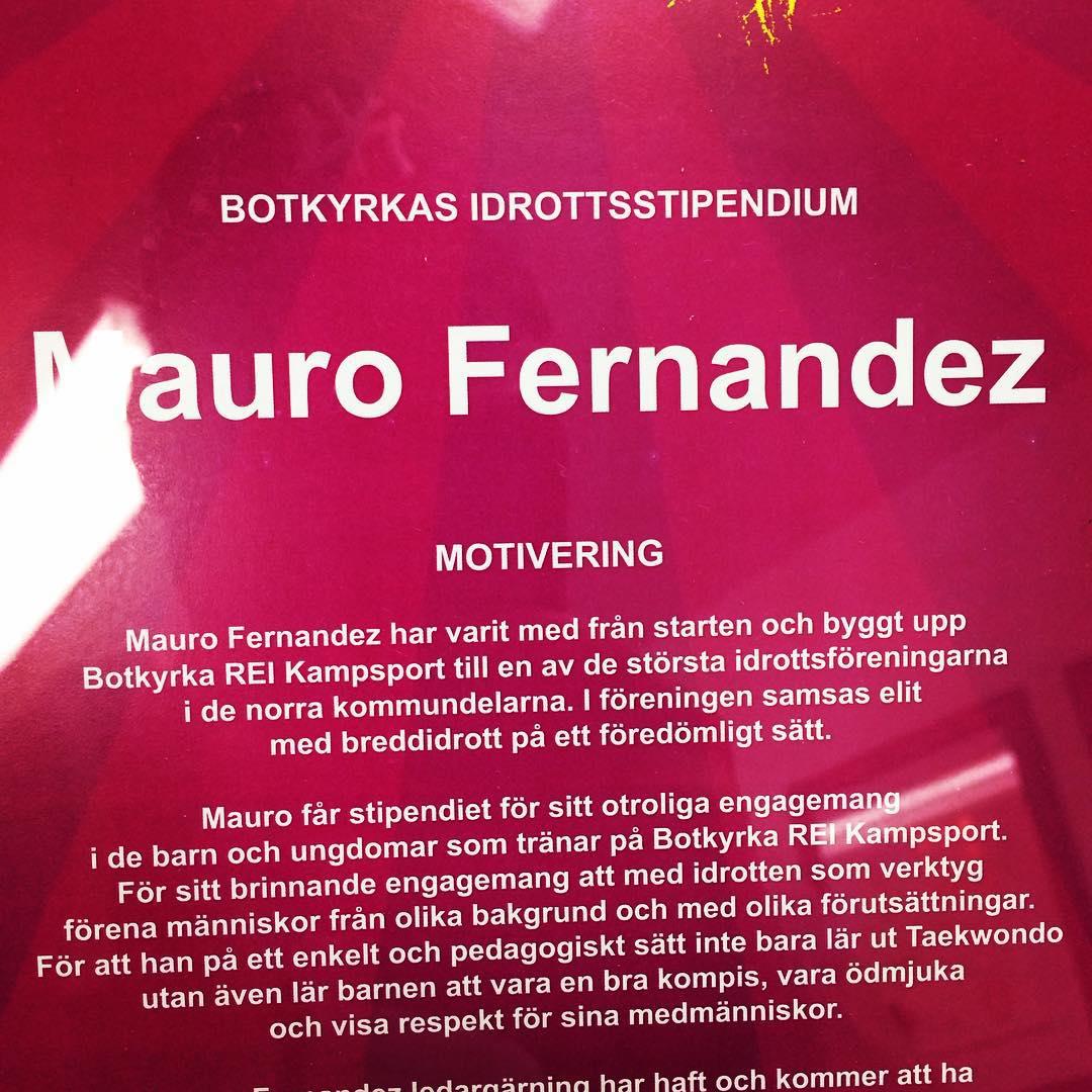 En utav REI kampsports Grundare Mauro Fernandez fick i helgenhellip